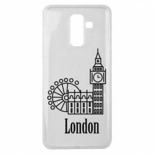 Samsung J8 2018 Case Inscription: London