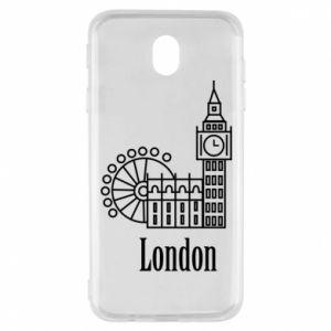 Samsung J7 2017 Case Inscription: London