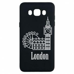 Samsung J7 2016 Case Inscription: London