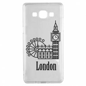 Samsung A5 2015 Case Inscription: London