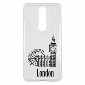 Nokia 5.1 Plus Case Inscription: London