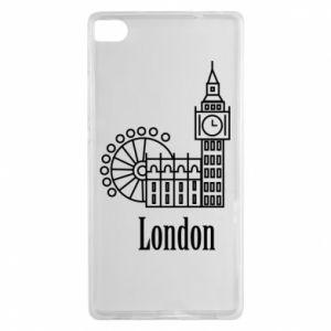 Huawei P8 Case Inscription: London