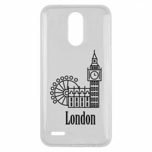 Lg K10 2017 Case Inscription: London