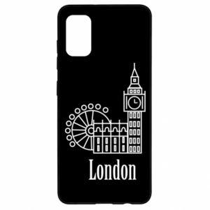 Samsung A41 Case Inscription: London