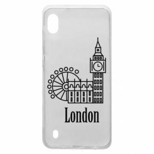 Samsung A10 Case Inscription: London