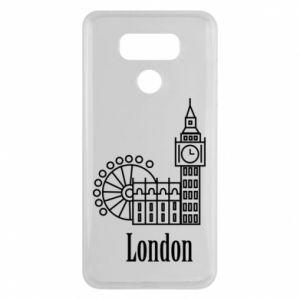 LG G6 Case Inscription: London