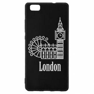Huawei P8 Lite Case Inscription: London