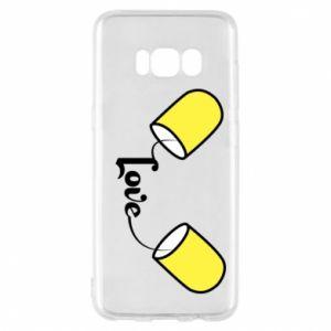 Etui na Samsung S8 Napis - Love