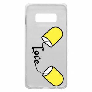 Etui na Samsung S10e Napis - Love