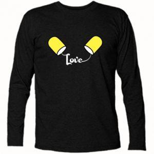 Koszulka z długim rękawem Napis - Love