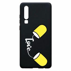 Etui na Huawei P30 Napis - Love