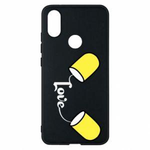 Etui na Xiaomi Mi A2 Napis - Love