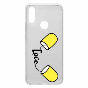 Etui na Xiaomi Redmi 7 Napis - Love