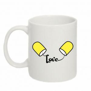 Kubek 330ml Napis - Love