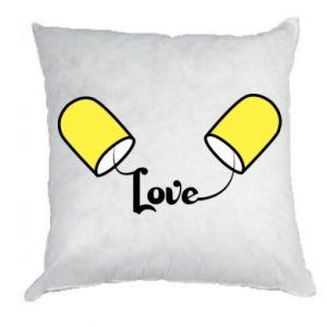 Poduszka Napis - Love