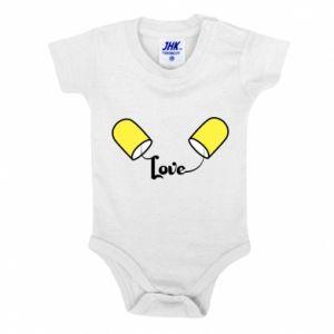 Body dla dzieci Napis - Love