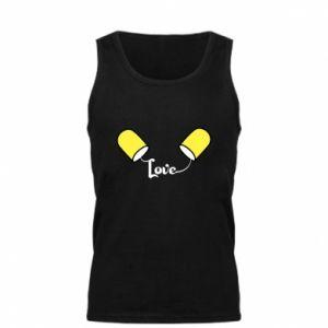 Męska koszulka Napis - Love