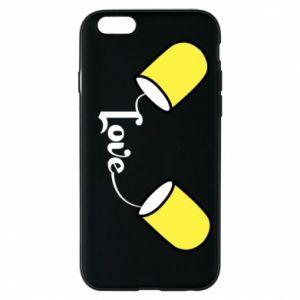 Etui na iPhone 6/6S Napis - Love