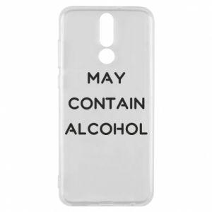 Etui na Huawei Mate 10 Lite Napis: May contain alcohol