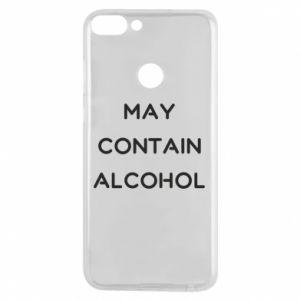 Etui na Huawei P Smart Napis: May contain alcohol
