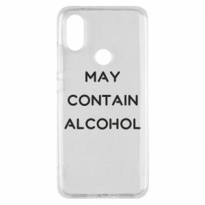 Etui na Xiaomi Mi A2 Napis: May contain alcohol