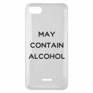 Etui na Xiaomi Redmi 6A Napis: May contain alcohol