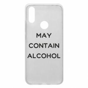 Etui na Xiaomi Redmi 7 Napis: May contain alcohol