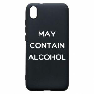 Etui na Xiaomi Redmi 7A Napis: May contain alcohol