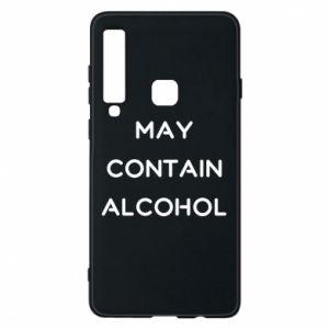 Etui na Samsung A9 2018 Napis: May contain alcohol