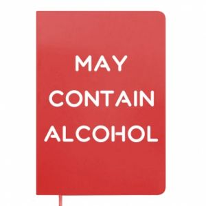 Notes Napis: May contain alcohol
