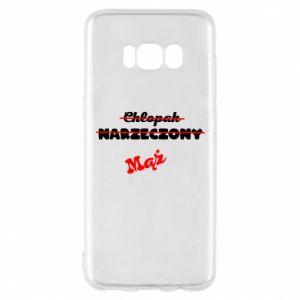 Etui na Samsung S8 Napis: Maż