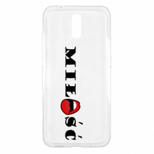 Etui na Nokia 2.3 Napis: Miłość i usta