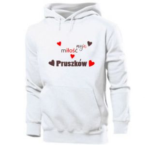 Men's hoodie Inscription - My love is Pruszkow