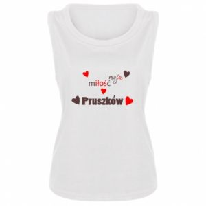 Women's t-shirt Inscription - My love is Pruszkow