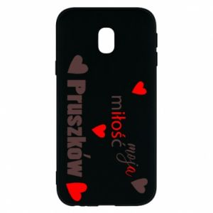 Phone case for Samsung J3 2017 Inscription - My love is Pruszkow