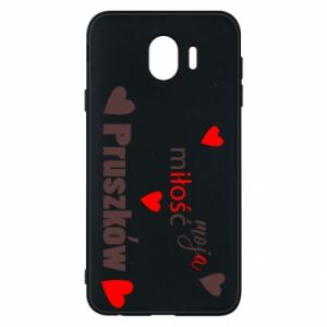 Phone case for Samsung J4 Inscription - My love is Pruszkow