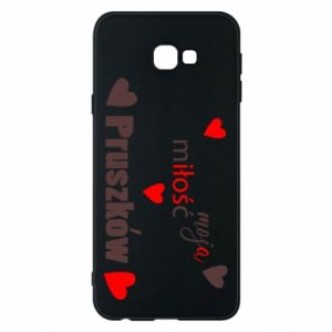 Phone case for Samsung J4 Plus 2018 Inscription - My love is Pruszkow