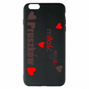 Phone case for iPhone 6 Plus/6S Plus Inscription - My love is Pruszkow