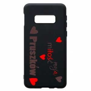 Phone case for Samsung S10e Inscription - My love is Pruszkow
