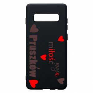 Phone case for Samsung S10+ Inscription - My love is Pruszkow