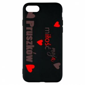 Phone case for iPhone 7 Inscription - My love is Pruszkow