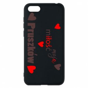 Phone case for Huawei Y5 2018 Inscription - My love is Pruszkow