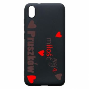 Phone case for Xiaomi Redmi 7A Inscription - My love is Pruszkow