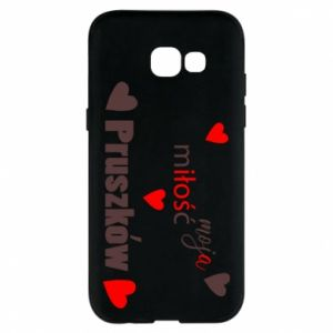 Phone case for Samsung A5 2017 Inscription - My love is Pruszkow