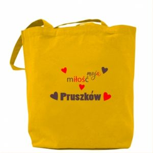 Bag Inscription - My love is Pruszkow