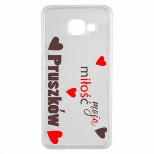 Etui na Samsung A3 2016 Napis - Moja miłość to Pruszków