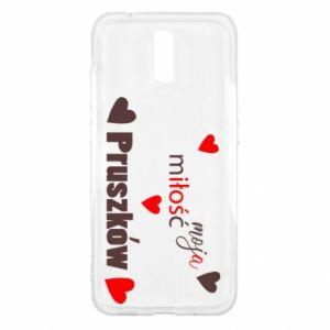 Etui na Nokia 2.3 Napis - Moja miłość to Pruszków