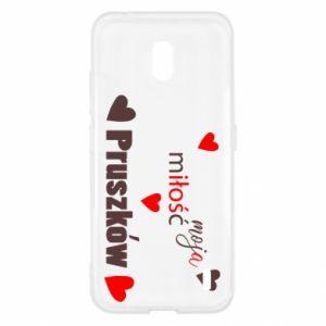 Etui na Nokia 2.2 Napis - Moja miłość to Pruszków