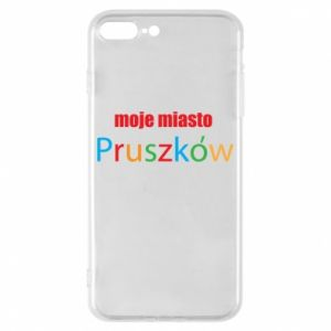 Phone case for iPhone 8 Plus Inscription: My city Pruszkow