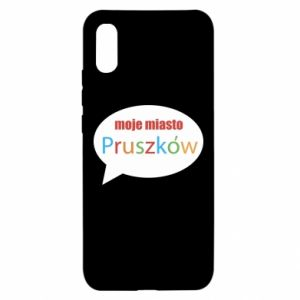 Xiaomi Redmi 9a Case Inscription: My city Pruszkow